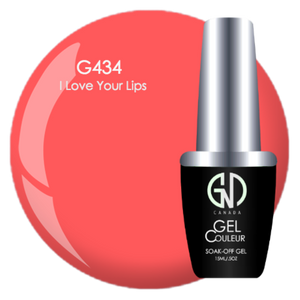 I Love Your Lips | GND Canada® 1-Step Gel - CM Nails & Beauty Supply