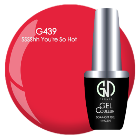 SSSShh You're Hot | GND Canada® 1-Step Gel - CM Nails & Beauty Supply