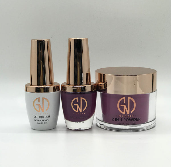 3-in-1 Nail Combo: Dip, Gel & Lacquer #183 GND Canada® - CM Nails & Beauty Supply