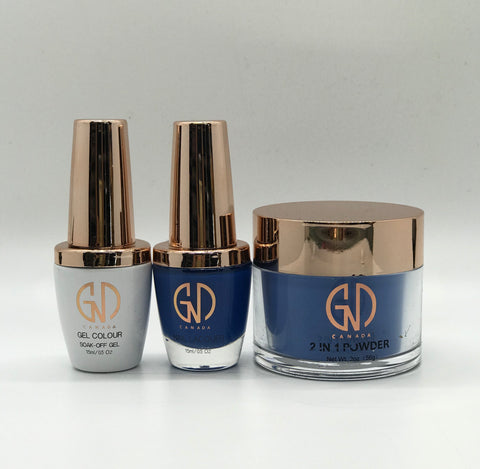 3-in-1 Nail Combo: Dip, Gel & Lacquer #188 GND Canada® - CM Nails & Beauty Supply