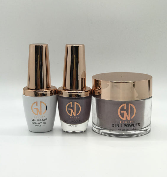 3-in-1 Nail Combo: Dip, Gel & Lacquer #201 GND Canada® - CM Nails & Beauty Supply