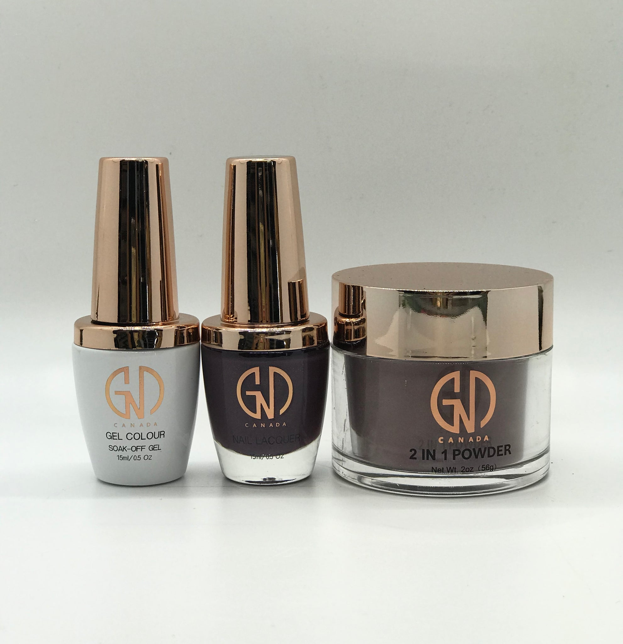 3-in-1 Nail Combo: Dip, Gel & Lacquer #202 GND Canada® - CM Nails & Beauty Supply
