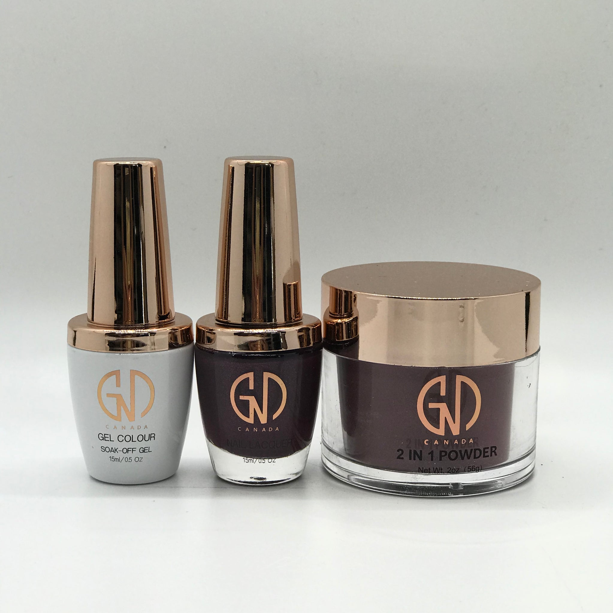 3-in-1 Nail Combo: Dip, Gel & Lacquer #203 GND Canada® - CM Nails & Beauty Supply