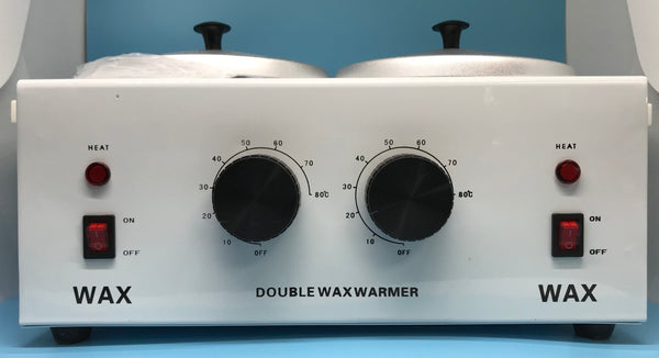 Double Pot Wax Warmer/Heater - Pro Electric Heater Dual Paraffin - CM Nails & Beauty Supply