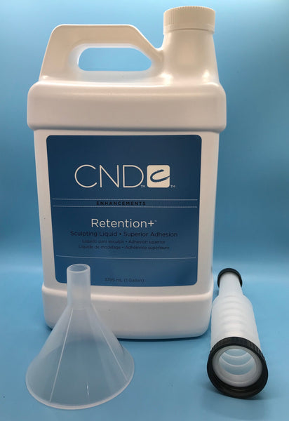 CND Creative Nail Design Retention Liquid - 1 Gallon/3785 ML - CM Nails & Beauty Supply