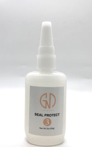 GND #3 Seal Protector (2 oz-Refill) GND Canada® - CM Nails & Beauty Supply