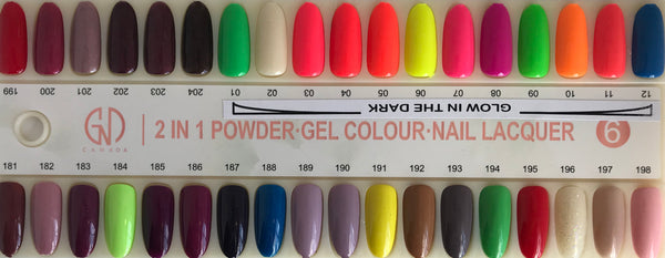 3-in-1 Nail Combo: Dip, Gel & Lacquer #189 GND Canada® - CM Nails & Beauty Supply