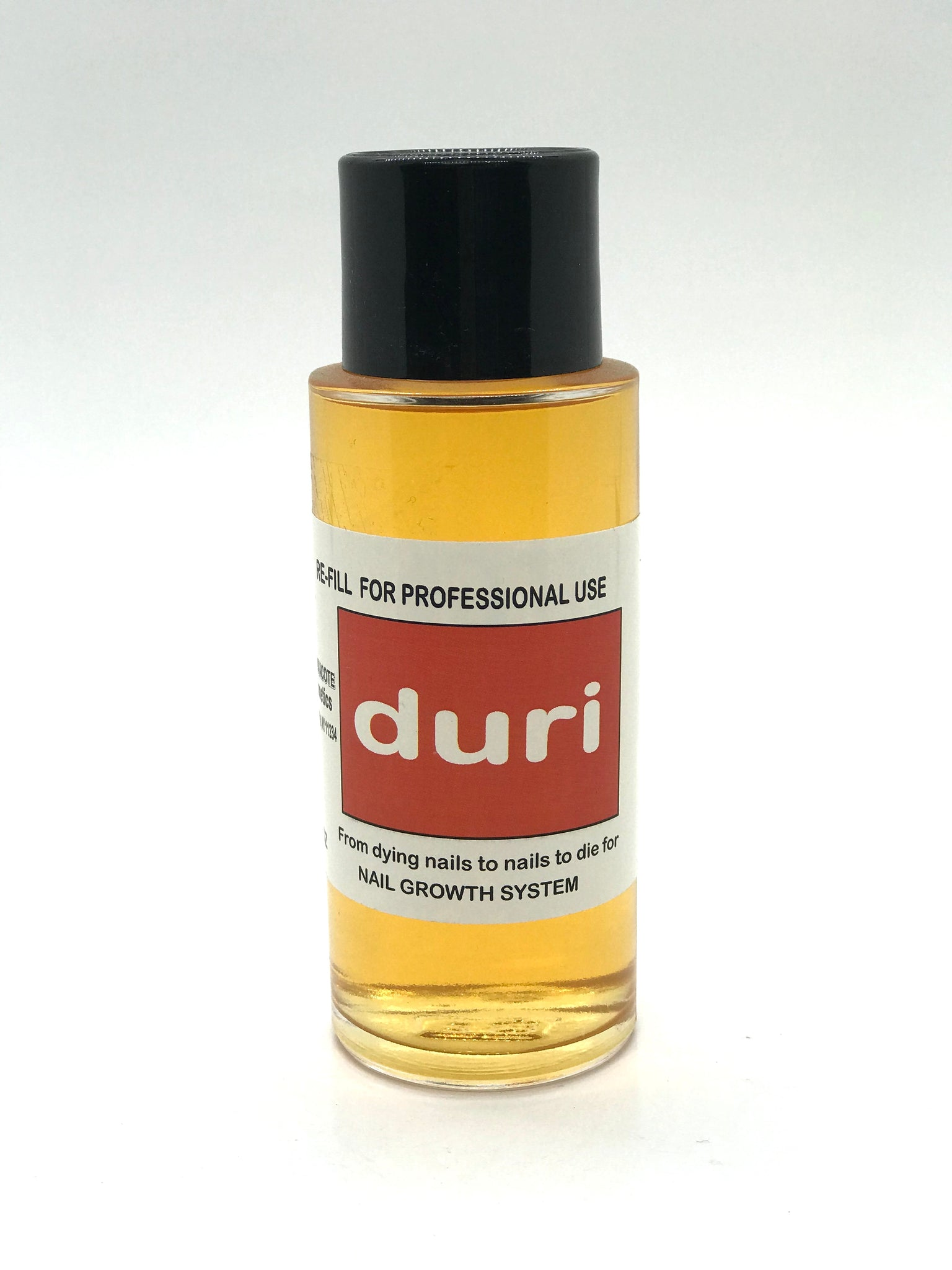 Duri Rejuvacote 1 Original Maximum Strength Nail Growth System, Base and Top Coat, 4 fl.oz. - CM Nails & Beauty Supply