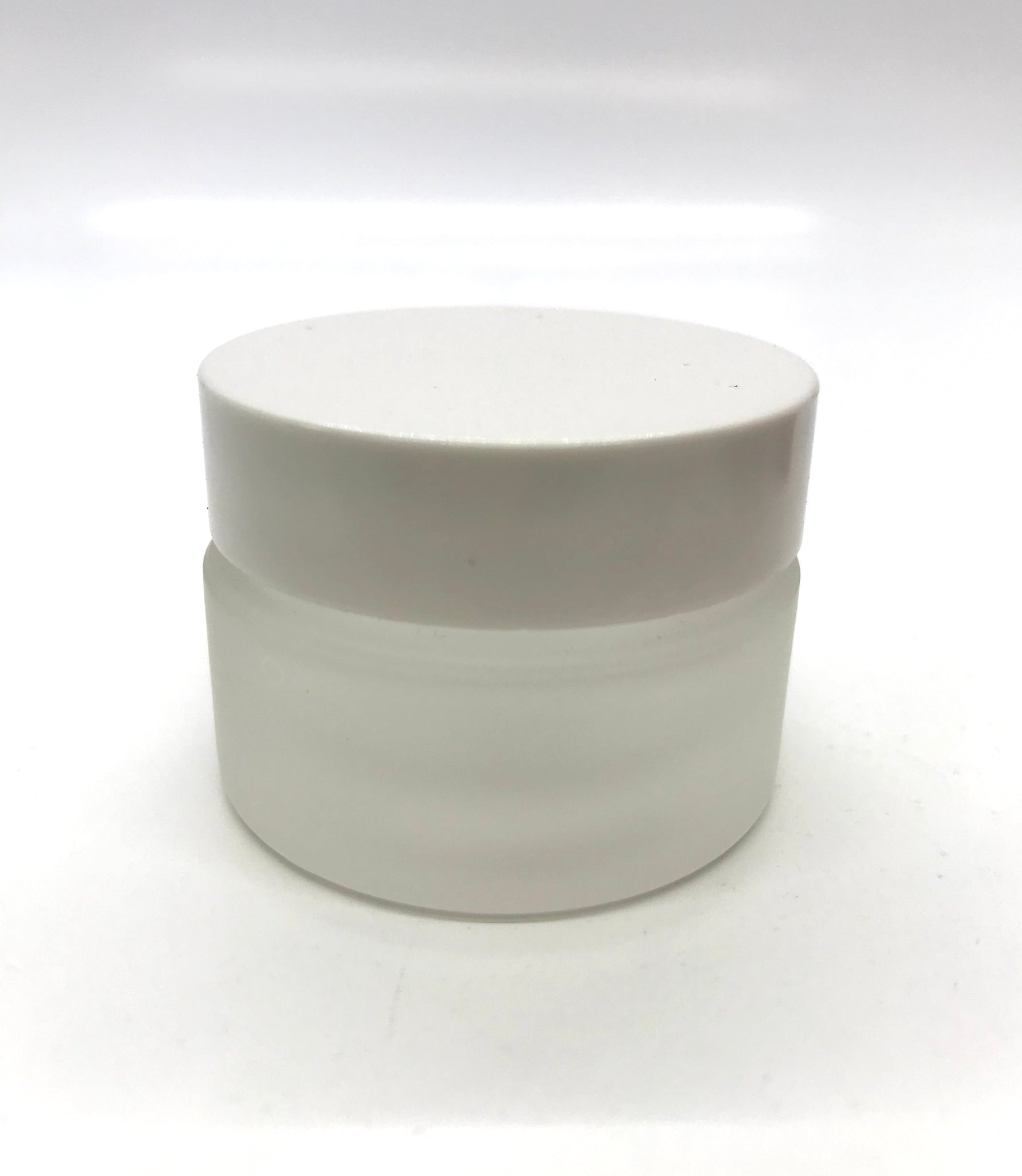 Liquid/Monomer Cup - Frosty Glass with Lid - CM Nails & Beauty Supply