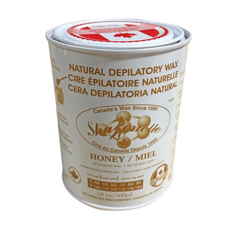 Natural Soft Wax - Honey (18 oz) | Sharonelle - CM Nails & Beauty Supply