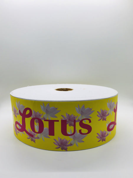 "Lotus Natural Waxing Muslin Roll | Wax Strips - 3"" x 100 yards - CM Nails & Beauty Supply"