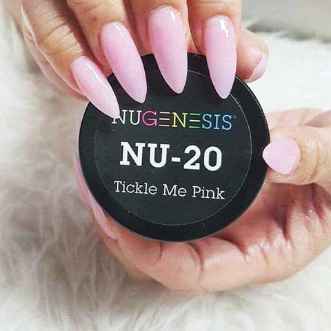 NuGenesis - NU 20 Tickle Me Pink  | NuGenesis® - CM Nails & Beauty Supply