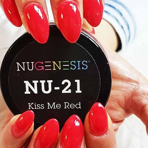 NuGenesis - NU 21 Kiss Me Red | NuGenesis® - CM Nails & Beauty Supply