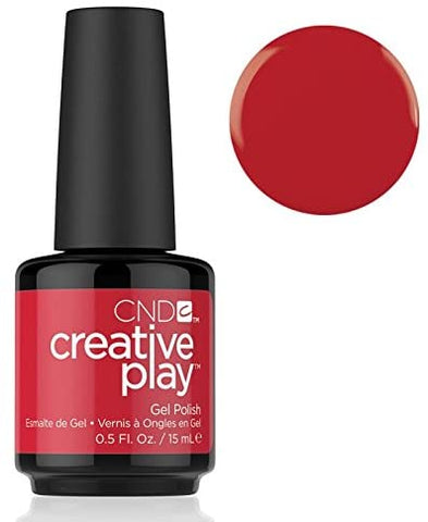 CND Creative Play Gel Polish - # 412 Red-Y- To Roll | CND
