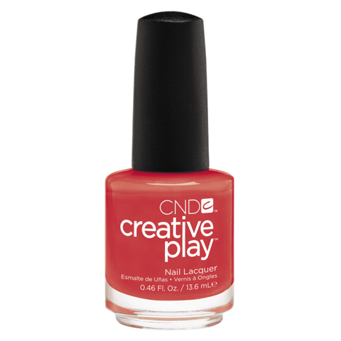CND Creative Play Nail Polish - Tangerine Rush | CND - CM Nails & Beauty Supply