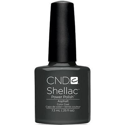 CND Shellac - Asphalt (0.25 oz) | CND - CM Nails & Beauty Supply