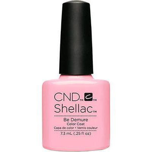 CND Shellac - Be Demure (0.25 oz) | CND - CM Nails & Beauty Supply