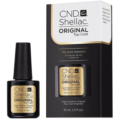 CND Shellac - Original Top Coat 0.5 oz (15ml) CND - CM Nails & Beauty Supply