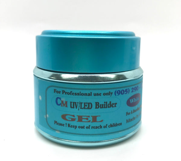 CM UV Gel Builder White. 2oz. - CM Nails & Beauty Supply
