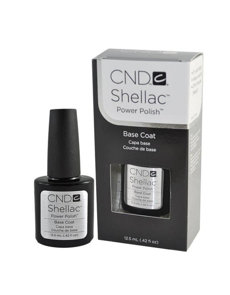 CND Shellac - Base Coat 0.42 oz (12.5 ml) | CND SOLD OUT - CM Nails & Beauty Supply