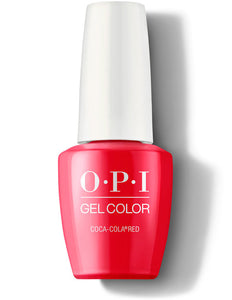 OPI GelColor - Coca-Cola® Red | OPI® - CM Nails & Beauty Supply
