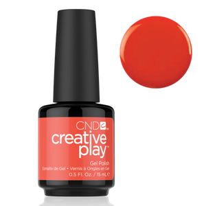 CND Creative Play Gel Polish - Tangerine Rush | CND - CM Nails & Beauty Supply