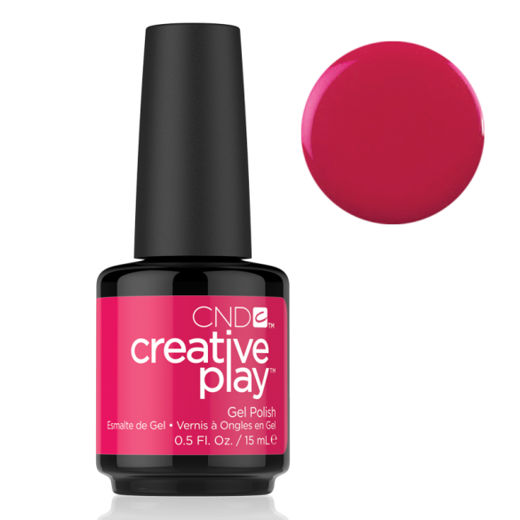 CND Creative Play Gel Polish - Fuchsia Fling | CND - CM Nails & Beauty Supply
