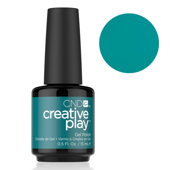 CND Creative Play Gel Polish - Head Over Teal | CND - CM Nails & Beauty Supply