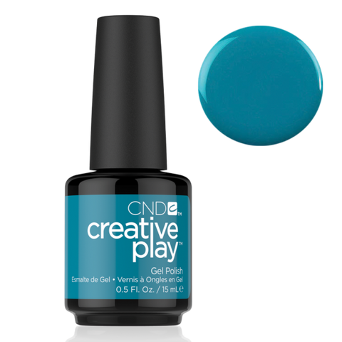 CND Creative Play Gel Polish - Teal The Wee Hours | CND - CM Nails & Beauty Supply
