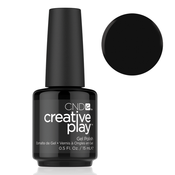 CND Creative Play Gel Polish - Black & Forth | CND - CM Nails & Beauty Supply