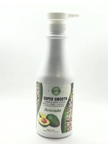 Super Smooth | Hand & Body Lotion | Avocado | 25 Oz ®