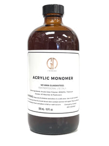 Acrylic Liquid / NO MMA- Monomer /  Purple / 500mL-16Fl. Oz (For Professional Use Only)