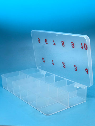 Empty Nail Tip Box Container - Hard Case