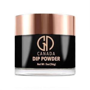 167 My Jet's Black GND Canada®️ Dipping Powder | 2oz