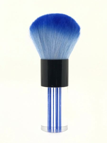 Premium Facial | Dusty Brush | Purple | Orange | Blue | Pink | Clear Handle .