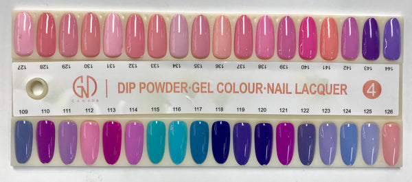 2-in-1 Nail Combo:  Gel & Lacquer #038 | GND Canada®