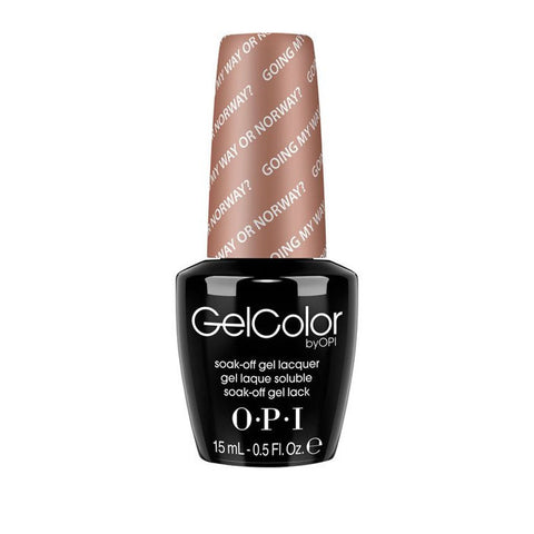 OPI GelColor - N39 Going My Way Or Norway | OPI®
