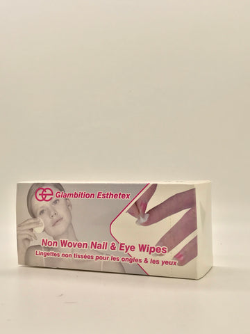 Lint Free | Disposable | Non Woven Nail & Eye Wipes | 200 Pcs