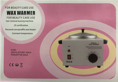 Wax Warmer Single Pot Depilatory Wax Heater - Aluminium Epilator Machine