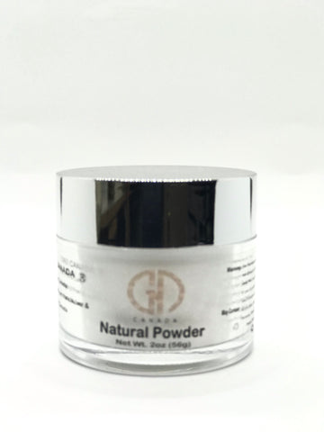 2-in-1 Acrylic Powder  | Natural Powder 2 Oz | GND Canada®