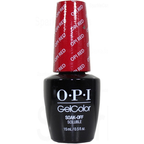 OPI GelColor - OPI Red | OPI® - CM Nails & Beauty Supply