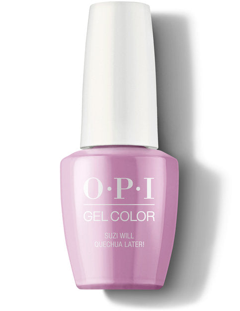 OPI GelColor - Suzi Will Quechua Later! | OPI® - CM Nails & Beauty Supply