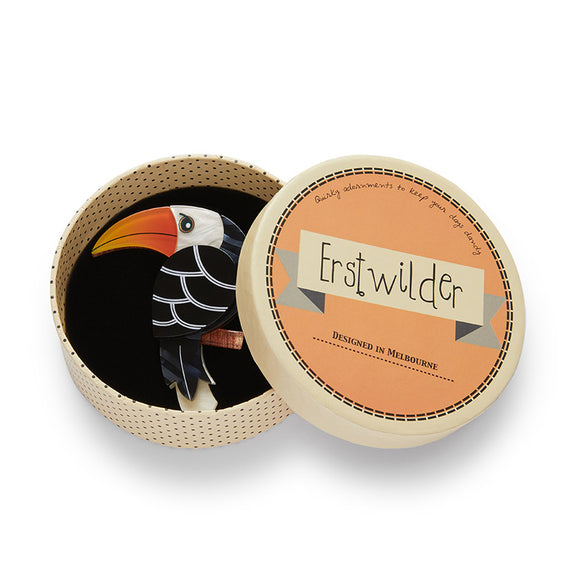 Erstwilder Terrence the Toucan Brooch
