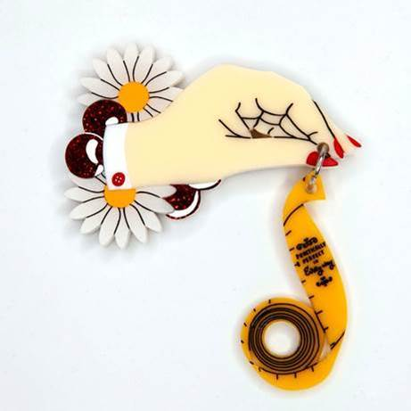 Daisy Jean Practically Perfect Brooch