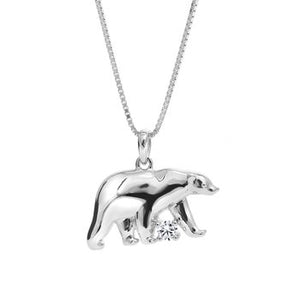 Canadian Rocks Polar Bear Pendant