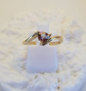 14k Mystic Topaz Ring In Yellow Gold