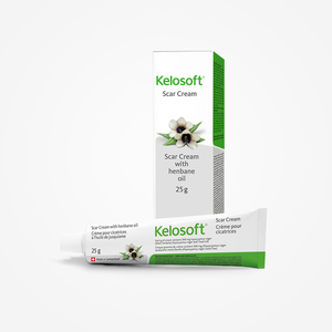 KELOSOFT | Scar Removal Cream | Plant-based | Fades Keloids, Stretch Marks, Burns