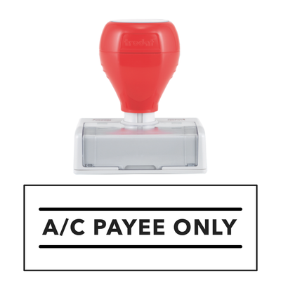 A/C PAYEE ONLY Pre Inked Stamp