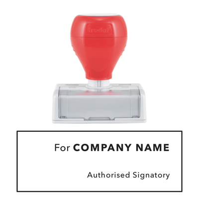 Signature Pre Inked Stamp 3
