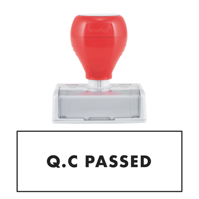 Q.C PASSED Pre Inked Stamp